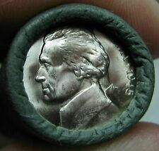 New listing 1945 D Obw Original Bank Wrapped Roll Uncirculated Silver Jefferson War Nickels
