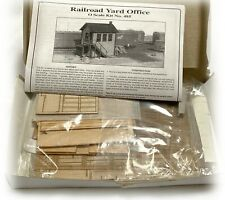 Boston Maine American Model Builders LaserKit O Scale #485 Railroad Yard Office