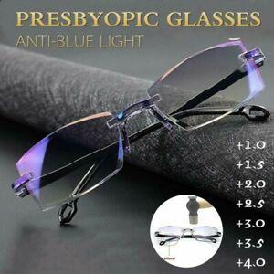 High Hardness Anti-blue Progressive Far And Near Dual-Use Reading Glasses