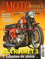 MOTO D'EPOQUE 32 HONDA RC 181 C110 BULTACO 250 Mk4 BSA A75 MUNCH URS DUCATI 285
