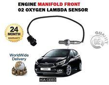 FOR KIA CEED 1.4i CVVT G4FA 3/2012-> NEW MANIFOLD FRONT 02 OXYGEN LAMBDA SENSOR