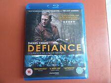 BLU RAY CD MOVIE FULL 1080p HD DTS DEFIANCE DANIEL CRAIG FILM DVD SECOND WAR