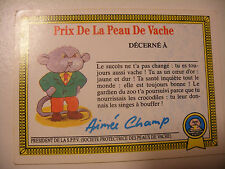 album PANINI MERLIN Les CRADOS Dos de Vignette Stickers Back Garbage Pail Kids