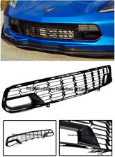Z06 Carbon Flash Metallic Front Bumper Grille For 14-Up Corvette C7 No Camera