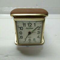 VINTAGE SETH THOMAS WIND UP TRAVEL ALARM CLOCK