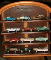 Franklin Mint Classic Cars of the Fifties with Display Shelf  FREE SHIPPING