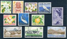 COOK ISLANDS 1963 DEFINITIVES SG163/173 MNH