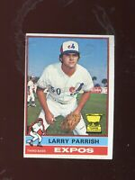 1976 Topps #141 Larry Parrish EX+/EX-MT (Expos) FREE SHIPPING ON $15+