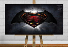 Batman Superman Poster superhéroe Dawn De Justicia Impresión De Foto Regalo Arte De Pared Hd