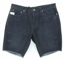 Polo Ralph Lauren Patch Destroyed Distressed Cutoff Frayed Corduroy Shorts 29