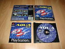 AQUA GT DE TAKE 2 INTERACTIVE FOR SONY PS1 UK VERSION USED COMPLETE