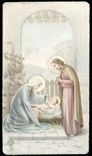 "santino-holy card""""ediz. NB  n.176 NATIVITA'"