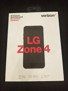 🔥 NEW - Verizon Wireless smartphone LG Zone 4 Prepaid 16GB Blue - NEW 🔥