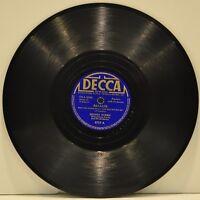 """DEANNA DURBIN  """"Because / Ave Maria""""  78 RPM  Decca 2757"""