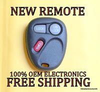 NEW 99 00 01 GM GMC CHEVY KEYLESS ENTRY REMOTE FOB TRANSMITTER 15732803 KOBUT1BT