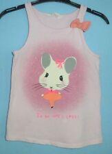 Girls' Novelty/Cartoon Vest Tops (2-16 Years)