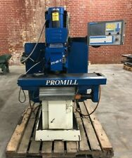 1997 Promill 3 Axis Cnc Bed Type Milling Machine Pm400 Ic Southwest Dpm