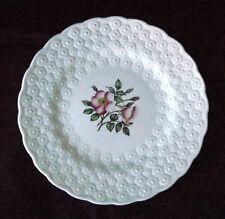 Vintage Canadian Centennial Alberta Wild Rose Glass Plate
