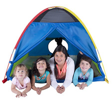"Pacific Play Tents Super Duper 4 Kid Dome Tent for Indoor / Outdoor Fun - 58"" x"
