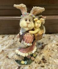 Nib Boyds Bearstone Figurine Abby T. Bearymuch.Yours Truly Valentine's Day