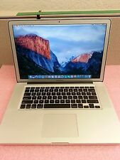 Apple MacBook Pro A1286 2010 Intel i7@ 2.20GHz, 8GB RAM, 500GB HDD / LP1928