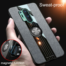 For OnePlus 8 7T 7 Pro 6T 6 Shockproof Ring Magnetic Car Holder Case Cover