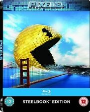 PIXELS blu ray Steelbook ( NEW )