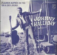 JOHNNY HALLYDAY  pleurer aupres de toi  NEUF EN BLISTER