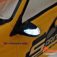1/10 RC Car Side Mirror LED Signal Indicator light for HSp On-Road Model Car