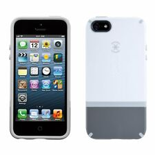 *New Speck CandyShell Flip Dockable Case for iPhone 5, 5S & SE - Pebble Grey