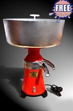 Milk cream electric centrifugal separator Metal 100L/h NEW!