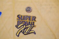 "Super Bowl XII (12) 2 3/8""  Patch Dallas Cowboys vs Denver Broncos Football"