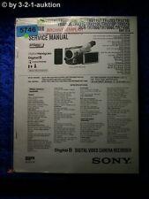 Sony Service Manual DCR TRV110E TRV210E TRV310E TR7000E TR7100E  (#5746)