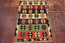 en exclusivité nomades Kelim très bien PERSAN TAPIS tapis d'Orient 1,50 x 0,97