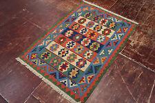 nomades Kelim très bien pièce unique PERSAN TAPIS tapis d'Orient 1,47 x 1,04