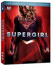 SUPERGIRL 4 2018-2019: Melissa Benoist - TV Season Series NEW Eu Rg2 DVD