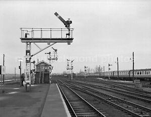 Ely South Station, Yard, Signals & Signal Box 1978 John Vaughan Negative RN109