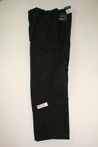 "PROPPER MENS DWR-COATED TEFLON LIGHTWEIGHT RIPSTOP TACTICAL PANT BLACK 36""X32"""