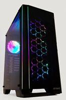 RGB Tempered Glass Gaming PC 6-core i5 9th Gen. 16 GB DDR4 480 GB SSD GTX RTX
