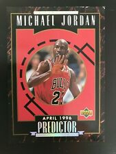 1995-96 Upper Deck Michael Jordan Predictor Player of the Week H5