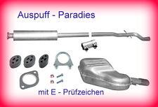 Abgasanlage Auspuff Schalldämpfer Volvo S60 2.4 (140 & 170 PS) bis 12/2002 + Kit