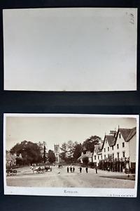 Irvine, Écosse, Kenmore, Panorama Vintage cdv albumen print CDV, tirage albumi