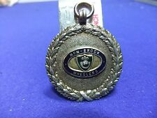 vtg badge medal cycle cycling club silver nun brook wheelers 1953 time trial ?