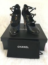 Chanel Other Open Shoes Navy Black 36.5, 37, 37.5 & 40.5 $1050