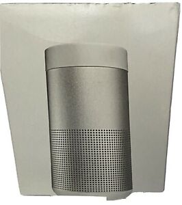 (EMPTY BOX and INSERTS ONLY)!!!Bose Soundlink Revole , Silver  color (OEM)