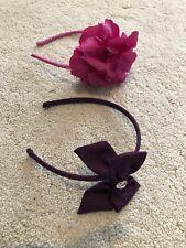 2x Girls Headbands