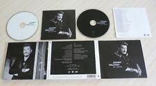 BEAU COFFRET CD + DVD ALBUM DIGIPACK DE L'AMOUR JOHNNY HALLYDAY 10 TITRES 2015