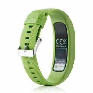 For Garmin VivoFit 4 Activity Tracker Soft Silicone Wristband Watch Band Strap