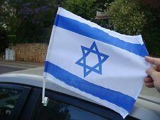 Israel Car Flag - Israel Window Flag - Israeli Car Flag