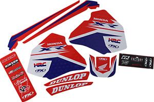 Factory Effex Honda Black Red White EVO 17 Graphics Kit 23-01342